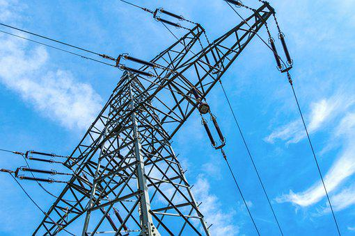 Current, Electricity Pylon, Strommast, Energy
