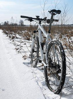 Winter, Tyre, Bike, Snow, Riding, Extreme, Sport, Wheel