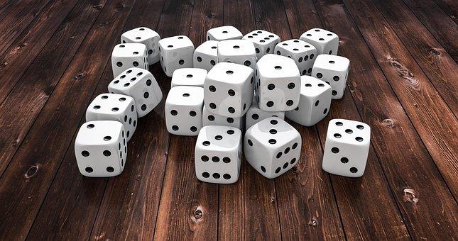 Cube, Dice Pile, 3d, Game Cube