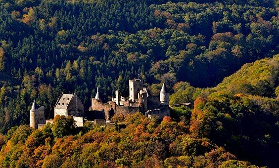 Castle, Castle Bourscheid, Luxembourg, Historical