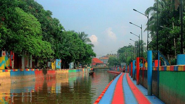 River, Sekanak, Besolek, Palembang, Indonesian