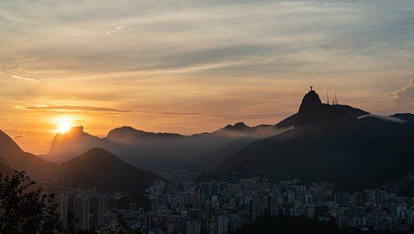 Sunset, Rio De Janeiro, Landscape, Sky, Summer