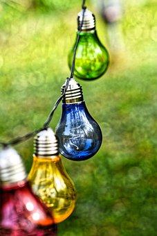 Party Lights, Lichterkette, Colorful Light, Light Bulbs