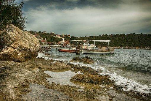 Sea, Sun, Pelion, Greece, Magnesia, Volos