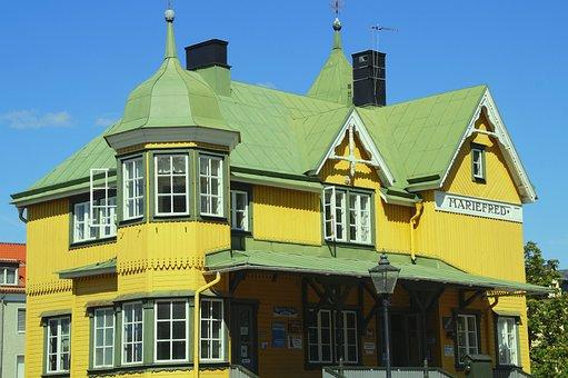 Mariefred, Sweden, Sörmland, Railway Station