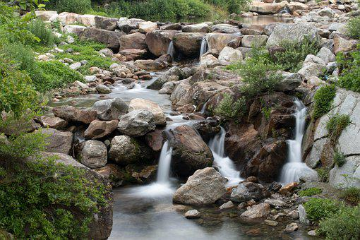 Water, Valley, Landscape, Nature, Mountains, Mountain
