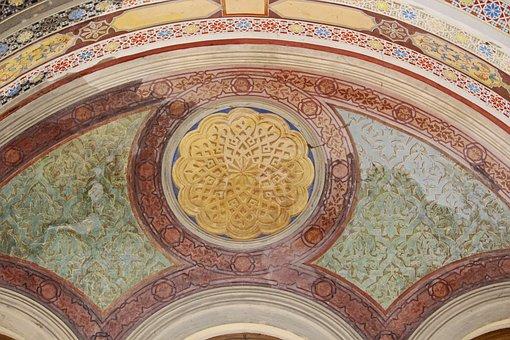 Cover Painting, Mural, Belvedere Castle, Pfingstberg