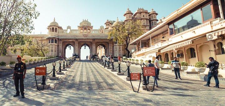 Udaipur, Palace Of The Marajaja Of Udai