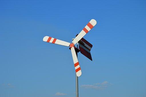 Pinwheel, Wind, Sky