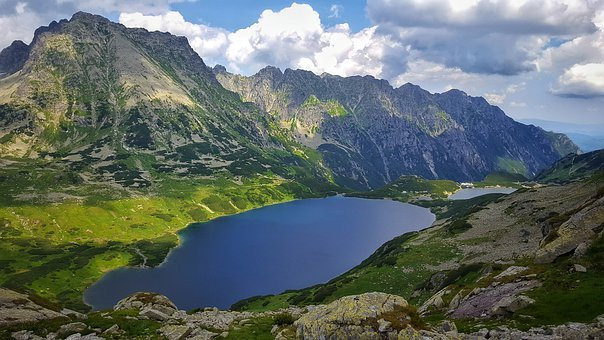 Five, Joints, Tatry, Buried, Poland, Tatra Mountains