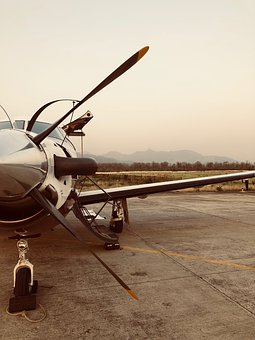 Airplane, Propeller, Aircraft, Turboprop