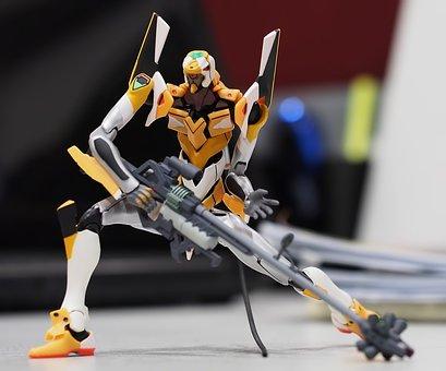 Evangelion Eva 00 Unit, Robot, Revoltech, Action