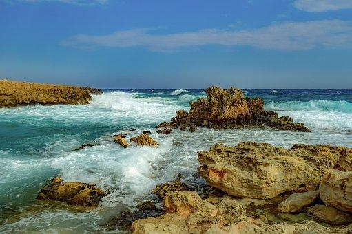 Rocky Coast, Waves, Nature, Rough Sea, Landscape, Coast