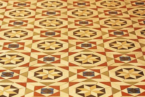 Tiles, Roman Cabinet, Belvedere Castle, Pfingstberg