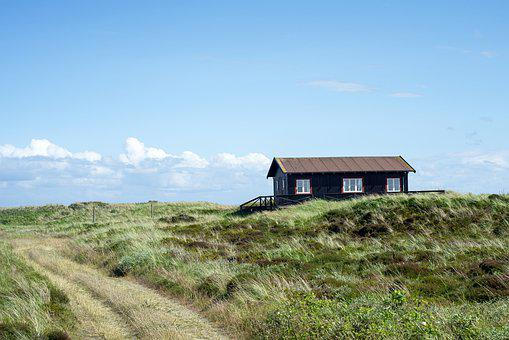 Cottage, Nature, House, Landscape, Rural, Coastal
