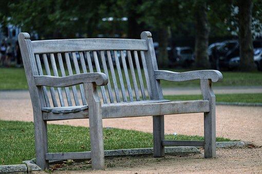 Bench, Garden, Seat, Park, Relax, Garden Bench, London