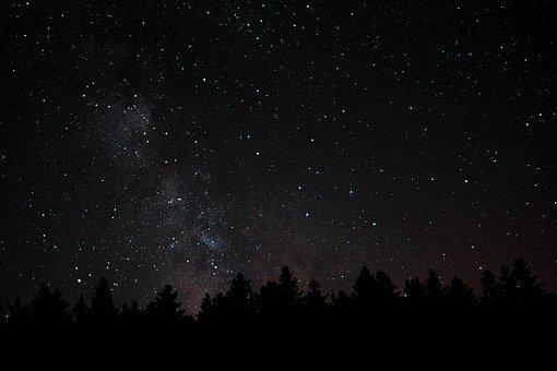 Stars, Night Sky, Night, Galaxy, Star, Sky, Universe