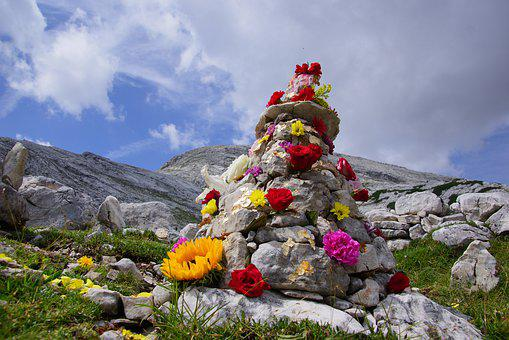 Stones, Mountain, Alps, Nature, Stone, Scenic