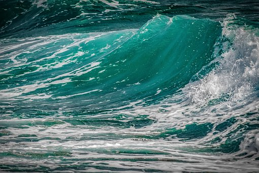 Wave, Surf, Turquoise, Water, Nature, Spray, Foam