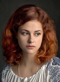 Girl, Woman, Portrait, Ruda, Young, Beautiful