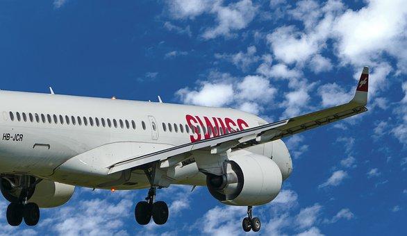 Aircraft, Swiss, Hb-jcr, Landing, Zurich, Balls, Airbus