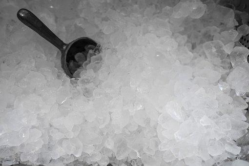 Ice, Crushed Ice, Cold, Frozen, Blade, Bar, Cocktail