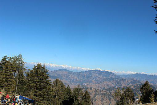 Hills, India, Landscape, Travel, Mountain, Sky, Blue