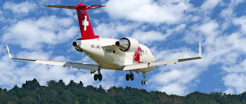 Rescue Flight Monitors, Rega, Hb-jwc, Bombardier
