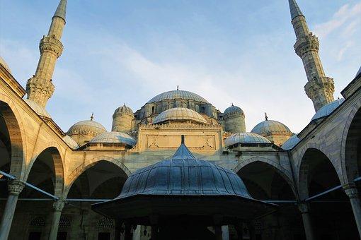 Cami, Architecture, Minaret, Dome, Islam, Travel