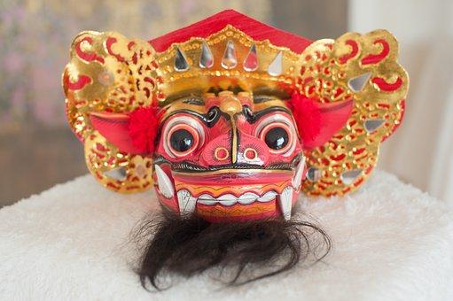 Bali, Dragon, Culture, Ritual, Mask, Tradition, Dance