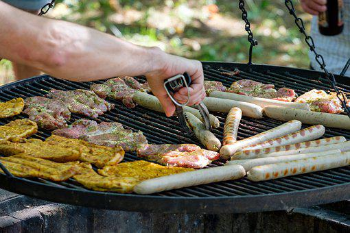 Barbecue, Grill, Grilling, Meat, Sausage, Food