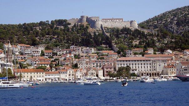 Croatia, Island, Hvar, Sea, Landscape, Adriatic Sea