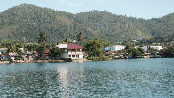 Indonesia, Toba, Lake, Villages, Sumatera