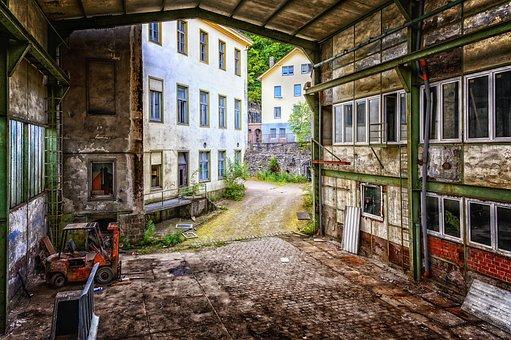 Abandoned Places, Pforphoto, Factory, Lapsed, Abandoned