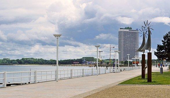 Travemünde, Beach Promenade, Baltic Sea, Lübeck Bay