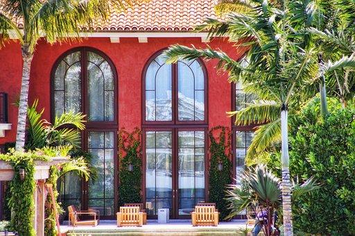 Florida, Miami, Villa, Bowever, Glass, Facade
