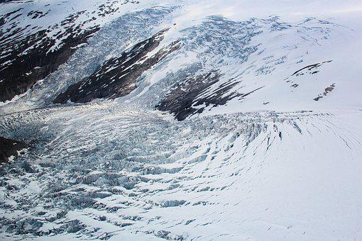 Glacier, Mountains, Norway, Snow, Landscape, Ice