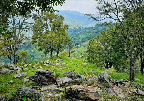 Natural Beauty, Summer, Beauty Of Nepal, Beauty, Rock
