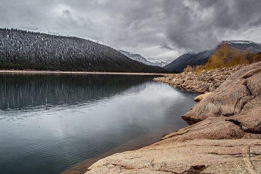 Lake, Mountain, Colorado, Mountains, Landscape, Nature