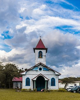 Church, Rural, Architecture, Old, Religious