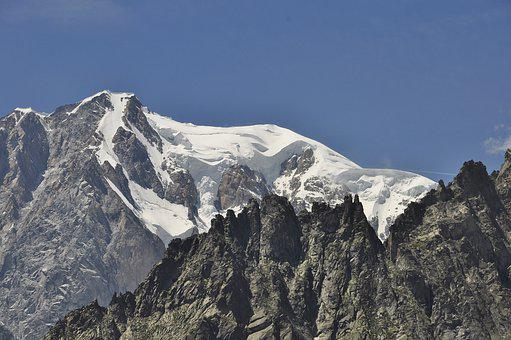 Mont Blanc, Italy, Snow, Mountain, White, Alps