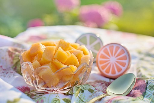 Cantaloupe, Summer, Nutrition, Melon, Fruit, Sweet