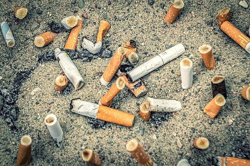 Tilt, Cigarettes, Smoking, Addiction, Nicotine, Ash