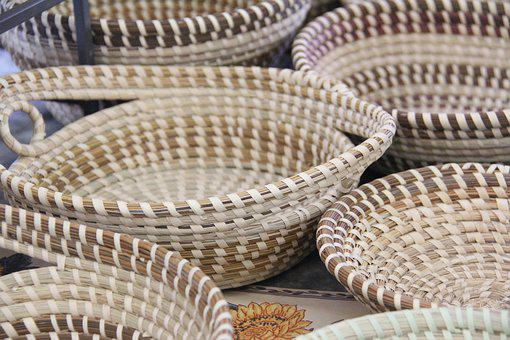 Charleston, Basket, Sweetgrass, Gullah, Baskets