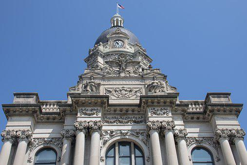 Courthouse, Building, Law, Government, Architecture