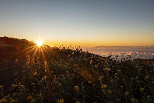 Canary Islands, La Palma, Spain, Sky, Landscape, Clouds