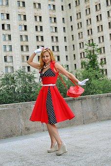 Dance, Dancing, Entertainment, Celebration, Red Dress