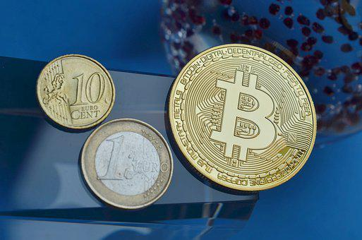 Bitcoin, Europe, Money, Finance, Coins, Euro, Btc