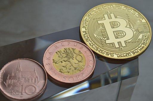 Bitcoin, Czech Republic, Money, Finance, Coins, Crown
