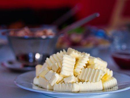Butter, Breakfast, Delicious, Bread, Eat, Food, Fresh